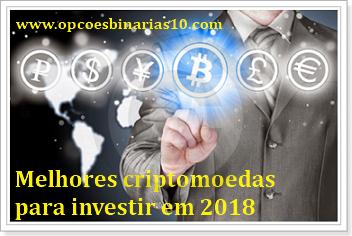 criptomoedas 2018